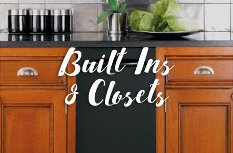 Built Ins & Closets