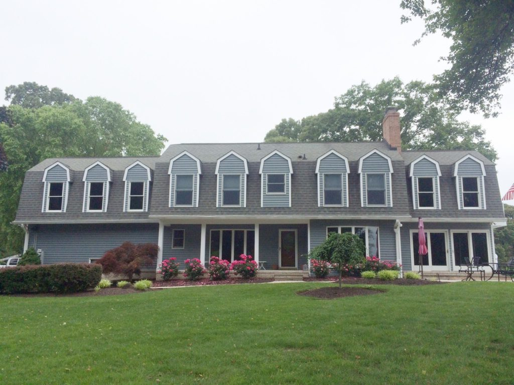 Exterior view of home