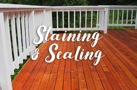 Staining & Sealing