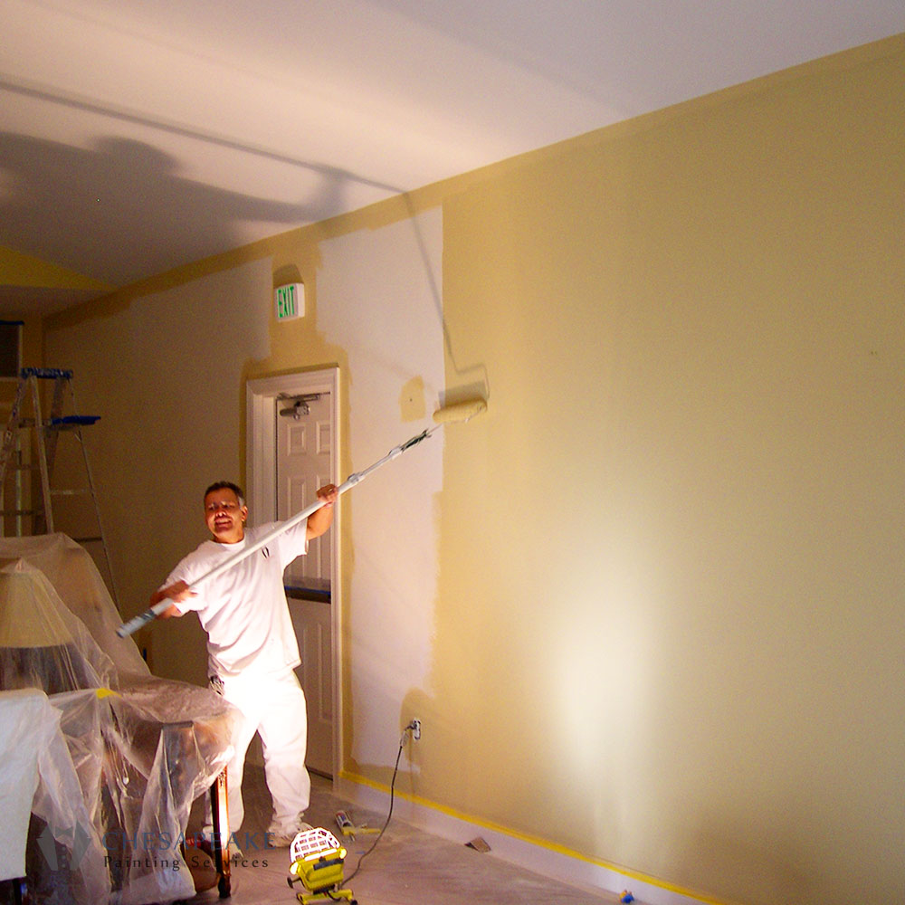 Interior painting chesapeake painting services - Interior exterior painting services set ...