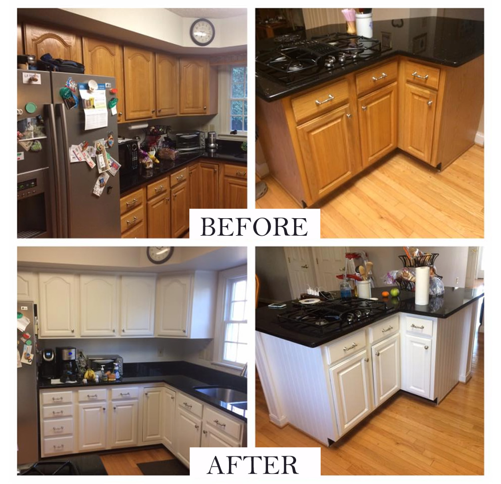 Refinishing Painted Kitchen Cabinets: Chesapeake Painting Services