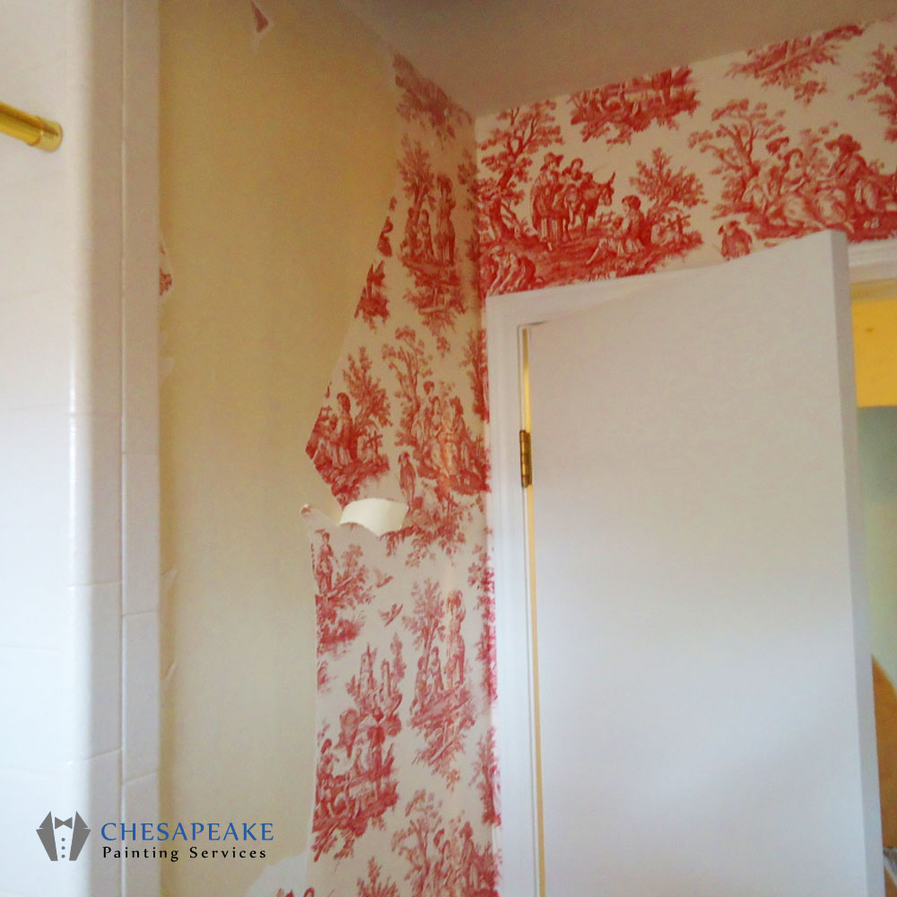 Wall Paper Removal wallpaper removal - chesapeake painting services